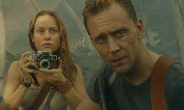 Tom Hiddleston and Brie Larson star in Kong: Skull Island trailer