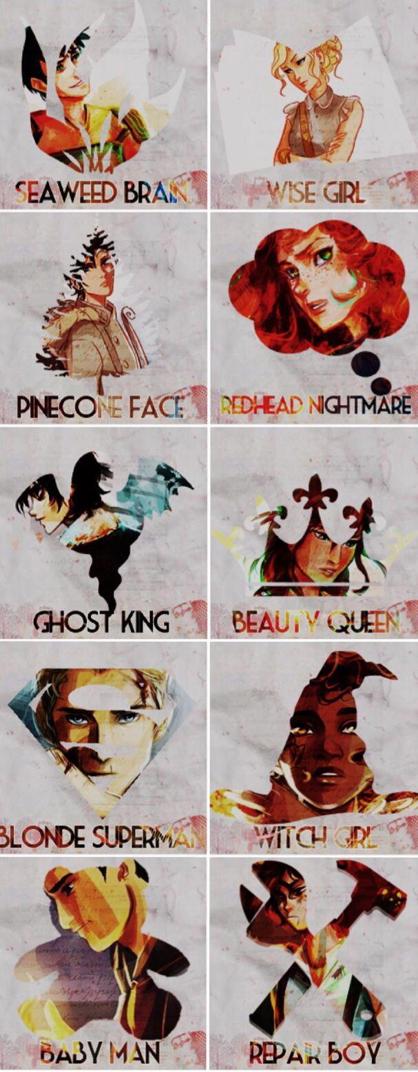 I love the nicknames. <3