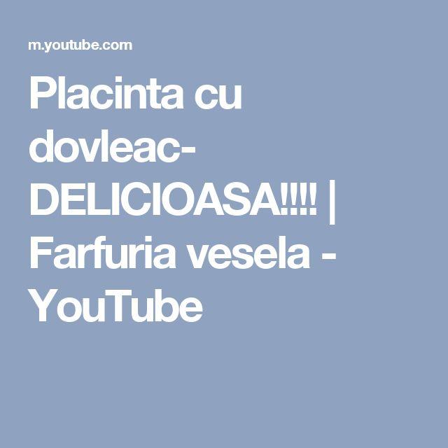 Placinta cu dovleac- DELICIOASA!!!! | Farfuria vesela - YouTube