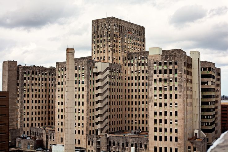 Charity Hospital, NOLA Old, Abandoned, Creepy