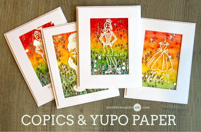 Copics and Yupo Paper + GIVEAWAYS - Jennifer McGuire Ink