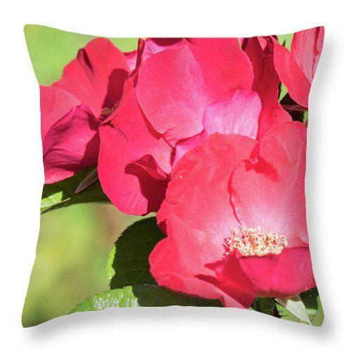 Natalya Antropova Throw Pillow featuring the photograph Flower Of Love by Natalya Antropova #NatalyaAntropovaFineArtPhotography#ArtDecor#HomeDecor#pillow