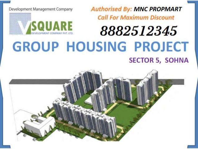 8882512345, V Square Sohna Updated Floor Plans ,Site Layout , Best Price , All Specifications , Maxium Discount By MNC PROPMART by Mnc Propmart via slideshare