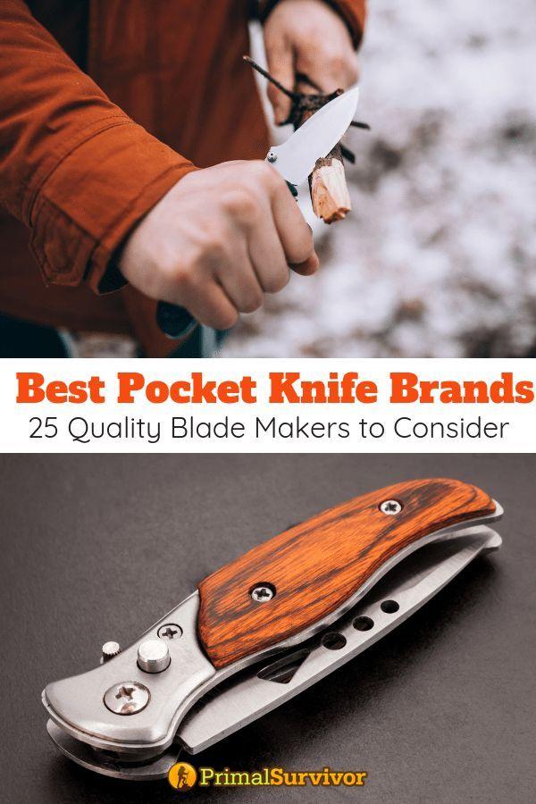 Best Pocket Knife Brands: 25 Quality Blade Makers To