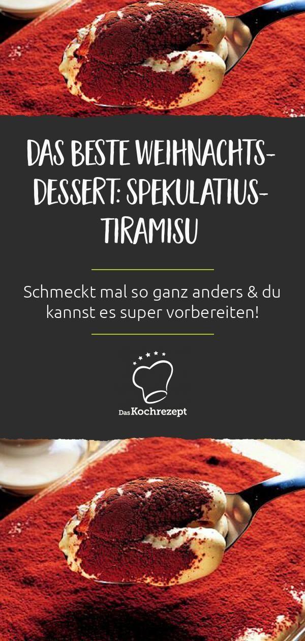 Speculoos Tiramisu  – Liebste Weihnachtsrezepte 2018, 2019
