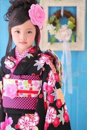 Japanese Kimono little girl
