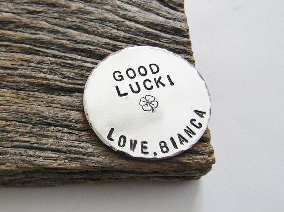 Lucky Charm Four Leaf Clover Pocket Token Shamrock for Luck Gift for Boyfriend Gift to Son Gift for Daughter Graduation Gift New Job Gifts