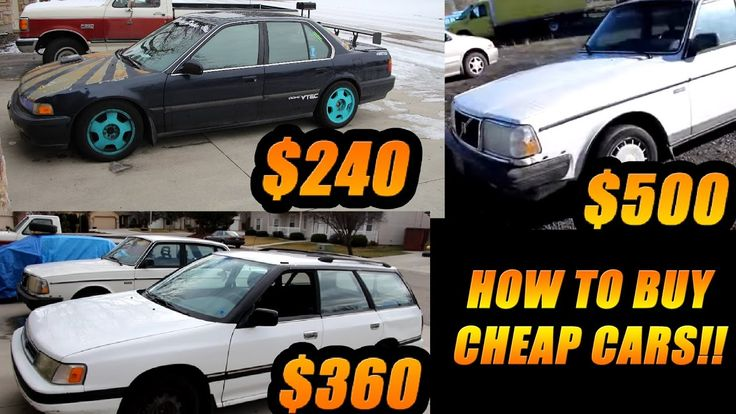 Where To Buy A Cheap Car