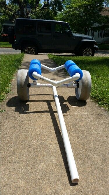 Diy kayak cart                                                                                                                                                                                 More #kayakideas