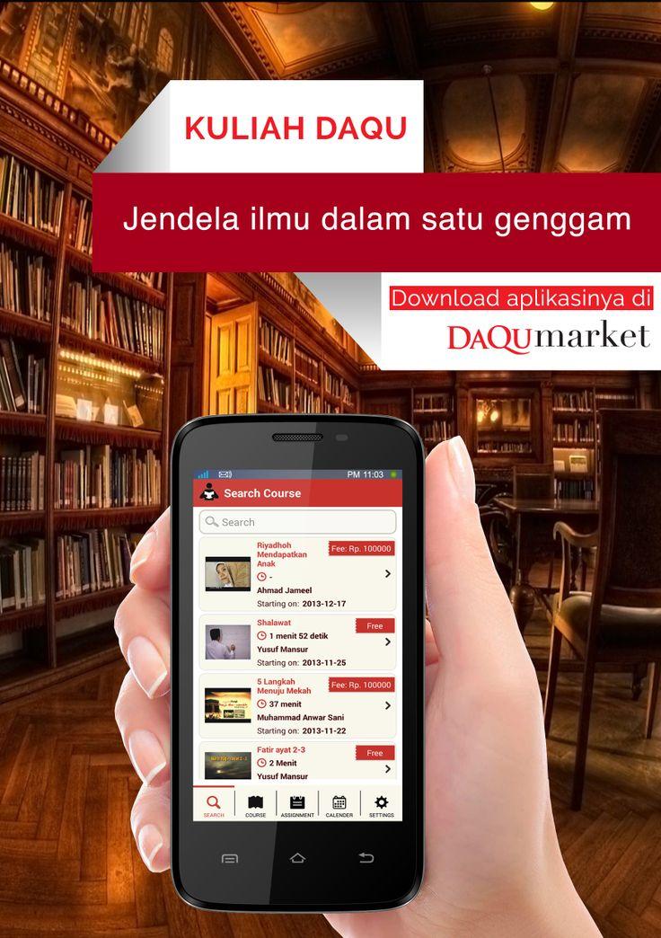 Download Andoridapp Kuliah Daqu For More Info Visit Www Mediahati Com