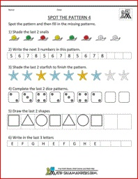 math worksheet : 1000 images about 3rd 4th grade functions  patterns on pinterest  : 4th Grade Math Patterns Worksheets
