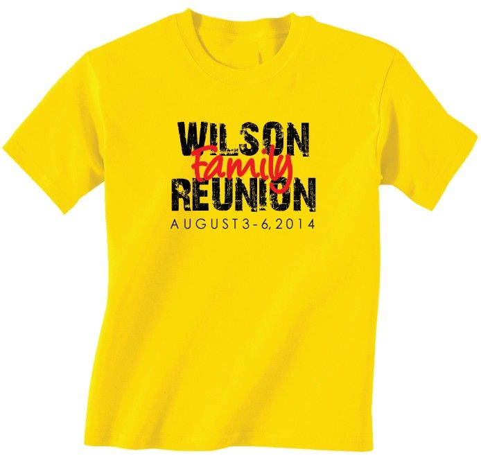 The 17 best Family Reunion T-shirts and Ideas images on Pinterest ...