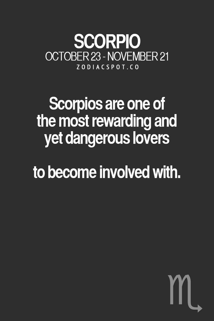 Cancer Hookup A Scorpio Quotes About Being Dangerous