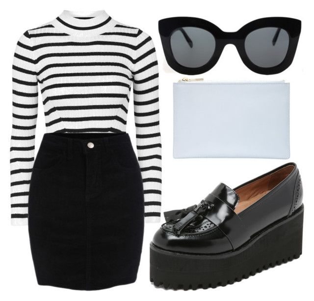 """""""Untitled #59"""" by belabelistic ❤ liked on Polyvore featuring Topshop, Whistles, Jeffrey Campbell, CÉLINE, women's clothing, women, female, woman, misses and juniors"""
