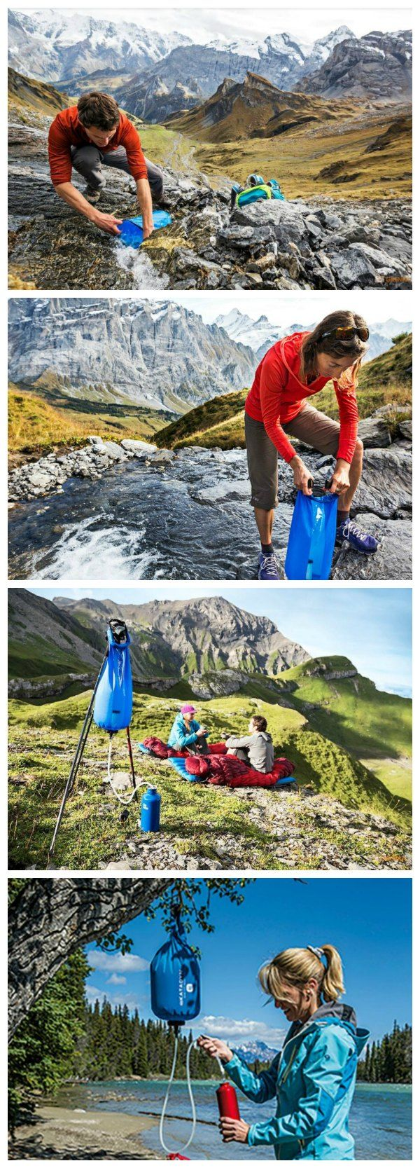 Fill, Hang and Enjoy! The Katadyn Gravity Camp 6 liter uses gravity, not your arm, to provide fresh, safe water you can trust.