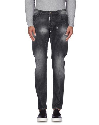 Prezzi e Sconti: #PoÈme bohÈmien pantaloni jeans uomo Nero  ad Euro 144.00 in #PoEme bohEmien #Uomo jeans pantaloni jeans