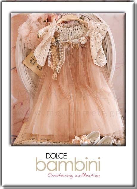 μεταξωτό φόρεμα Dolce Bambini
