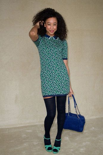 Corinne Bailey Rae's style is ADORABLE!! :)