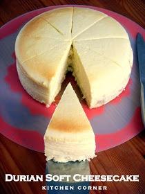Kitchen Corner: Durian Soft Cheesecake