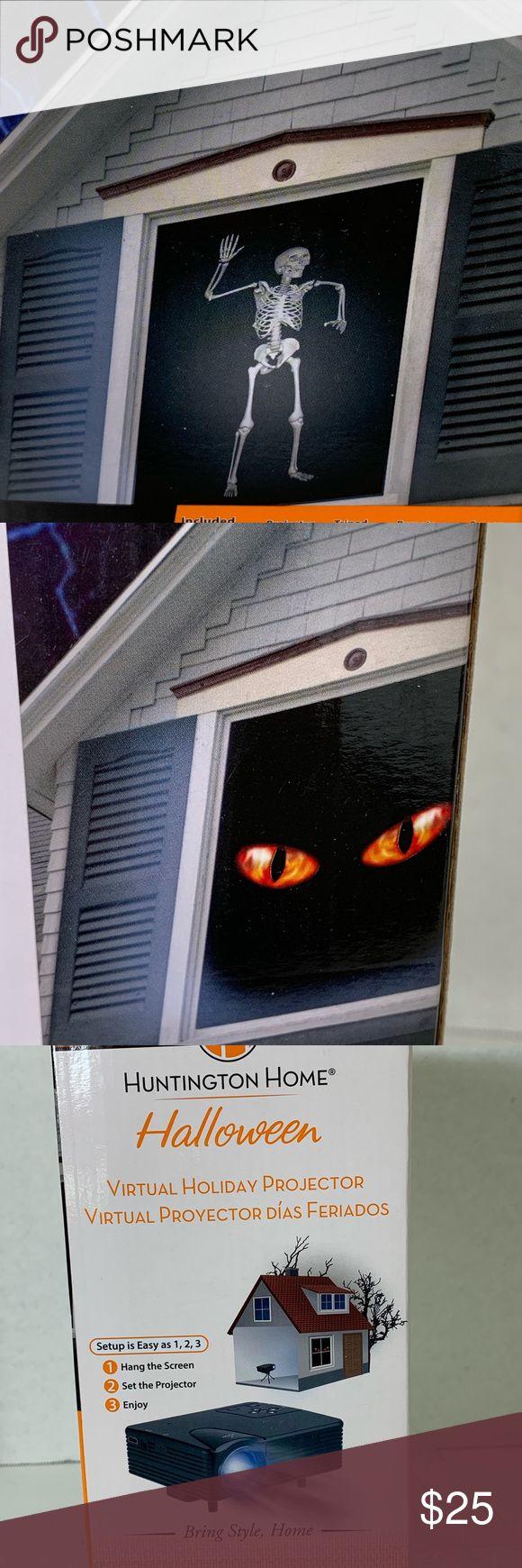 Halloween Holiday Window Projector Movies Light