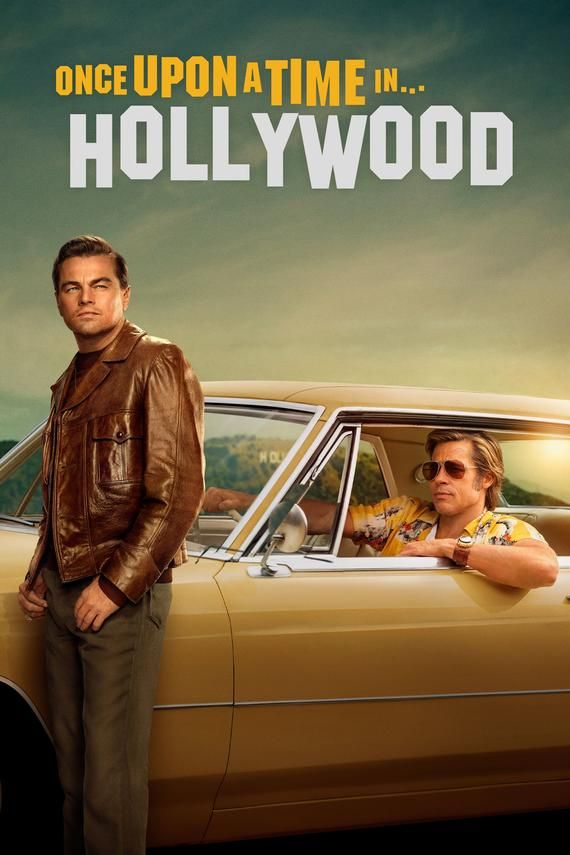 """Once Upon a Time in Hollywood 2019 comedy film Poster Wall Art 24x36/"""" #3"""