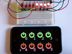 Une interface web simple pour piloter des LED avec HTML5 et Python sur le Raspberry Pi | Framboise 314, le Raspberry Pi à la sauce française….