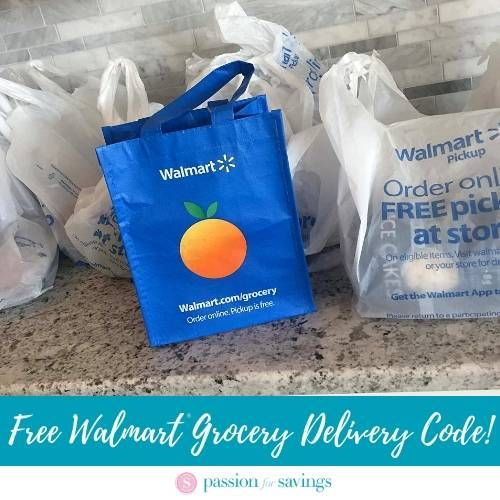 Walmart Grocery Delivery Coupon Codes Free Delivery Walmart