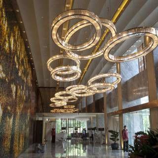 Mandarin Oriental Hotel · Preciosa Lighting
