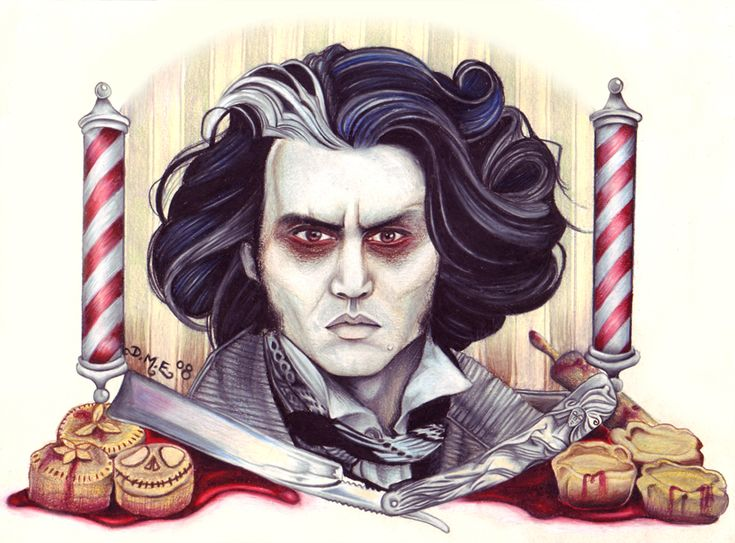 71 best tattoo ideas tim burton inspired images on for Sweeney todd tattoo