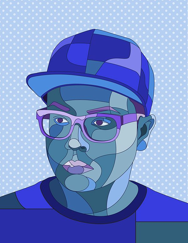 vectored self portraits - Google Search