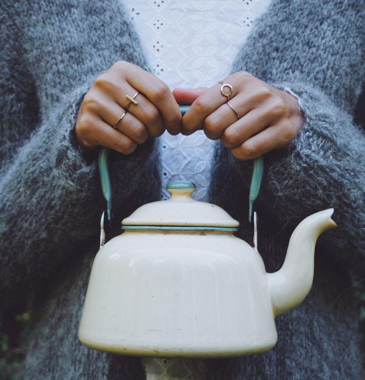 Heartbeats Blog by KiKa Tea Kettle and cozy sweaters