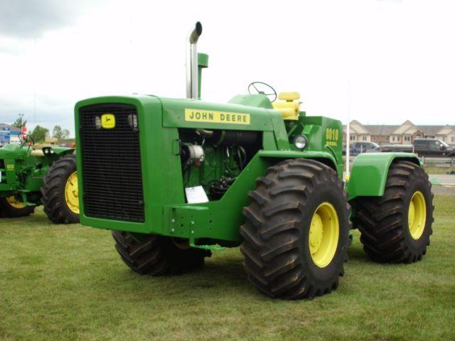 Antique Tractors 4 Wheel Drive : Johndeere the first jd wd tractor john deere