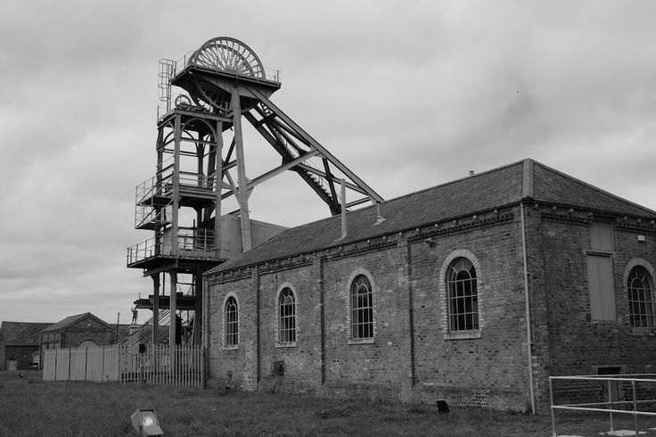 Ashington, Northumberland, once the biggest pit village in the world.