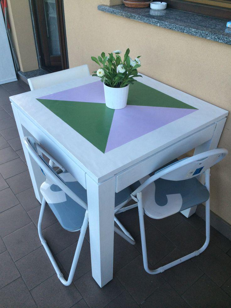 un tavolinetto per l'estate
