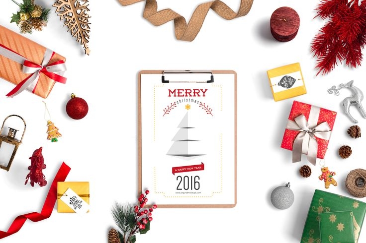 Christmas Header And Hero Scene Mockup 08 by Original Mockups on @originalmockups