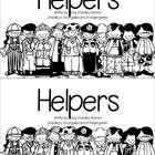 A beginning emergent reader focusing on community helpers.  Each page is a different community helper and focuses on the sight words I and A.  Grea...