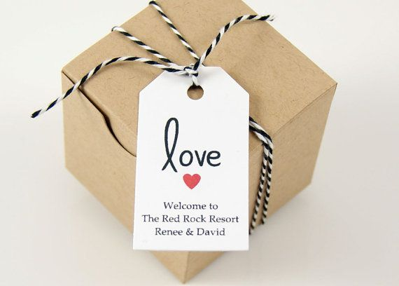Favor Tags - Wedding Favor Tags, Shower Favor Tags, Gift Tags, Thank You Tags, Personalized Favor Tags