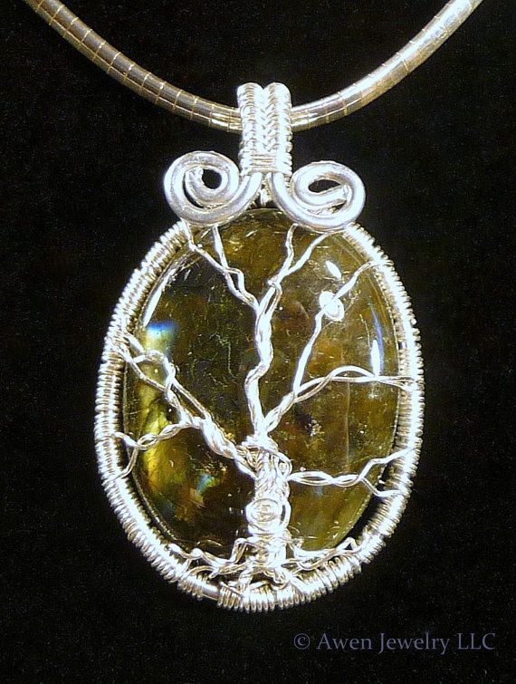 84 best awen jewelry necklaces pendants images on pinterest silver moss green labradorite winter tree pendant by awenjewelry 6000 a lovely mozeypictures Gallery