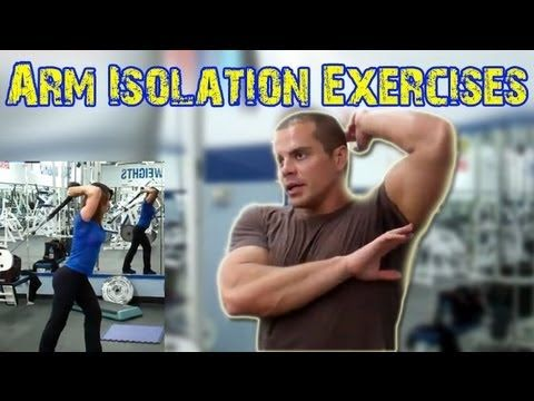 How to Get Huge Biceps Fast -- arm isolation exercises