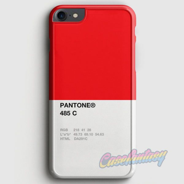 Pantone 485 C iPhone 7 Case | casefantasy