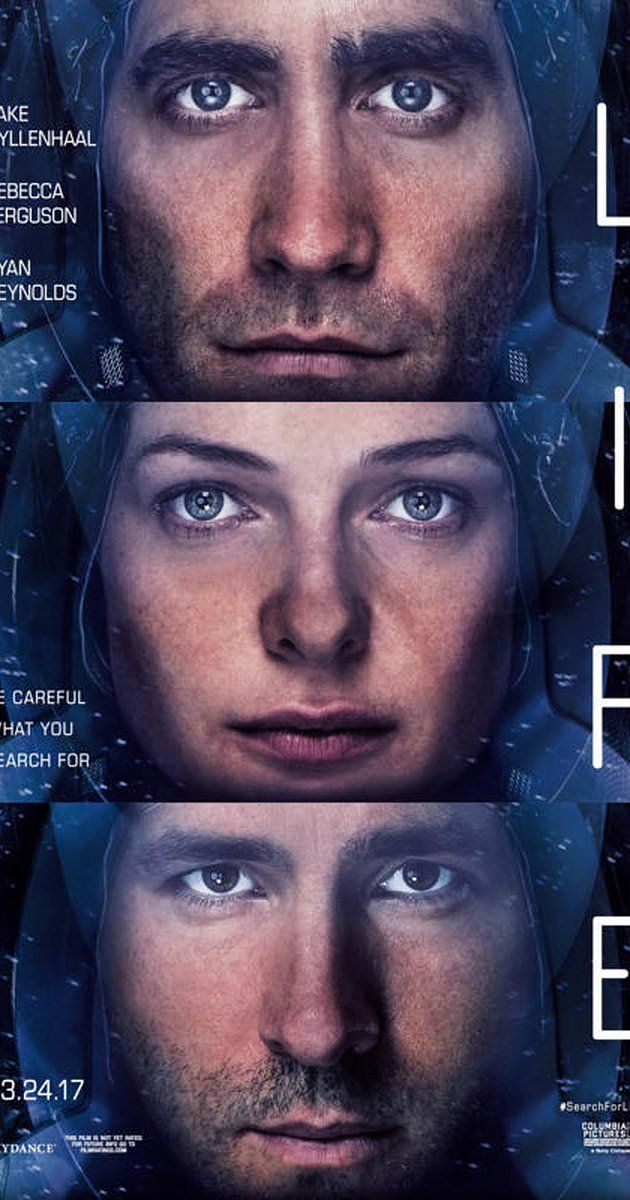 Directed by Daniel Espinosa.  With Jake Gyllenhaal, Ryan Reynolds, Rebecca Ferguson, Hiroyuki Sanada. An international space crew discovers life on Mars.