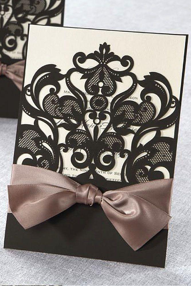 251 best Wedding invitations images on Pinterest | Bridal ...