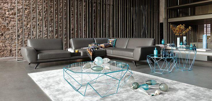 Roche Bobois Sofas Catalogo: ENVERGURE Corner Sofa Composition