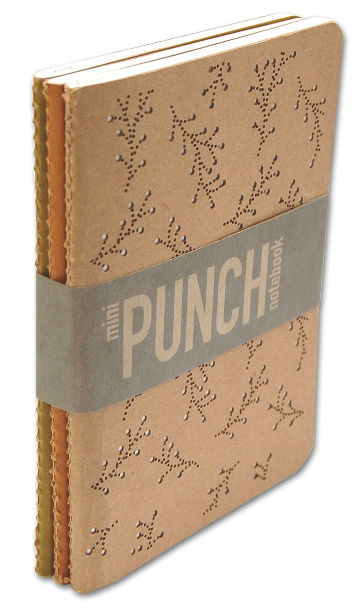 Mini Punch Notebook Set