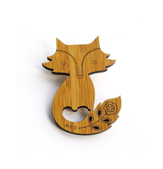 Hey, I found this really awesome Etsy listing at http://www.etsy.com/listing/161634496/fox-bamboo-brooch-wood-brooch-wood-pin