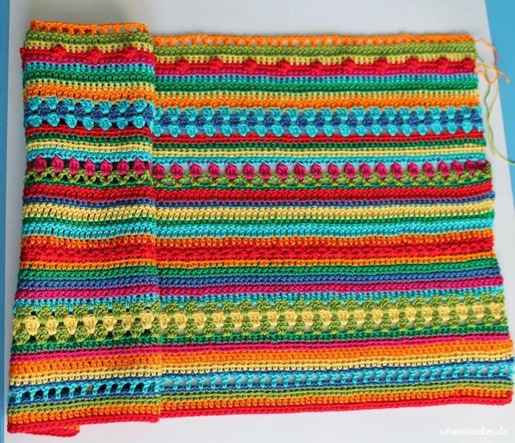 Reihen 1-40 Crochet Along Babydecke schoenstricken.de - Teil 9