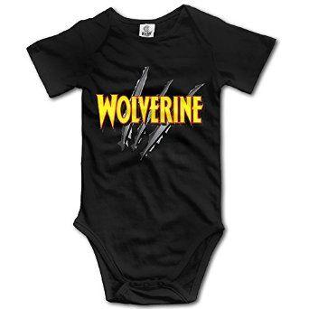Amazon.com: Wolverine Marvel Superhero Baby Boys/Girls Bodysuit Onesies: Clothing