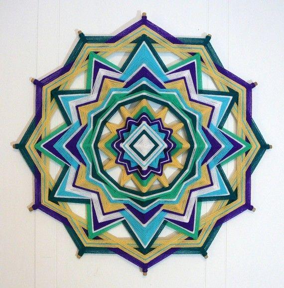 OJOS de Dios-Yarn Mandala