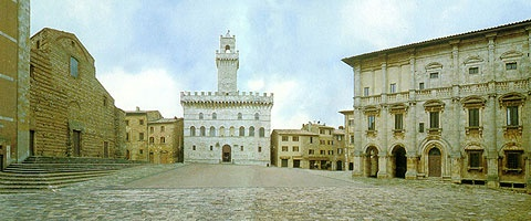 Montepulciano in Tuscany