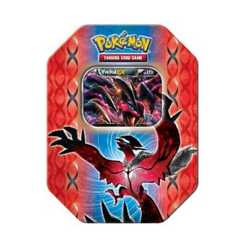 Yveltal Ex Pokemon tin ($15)